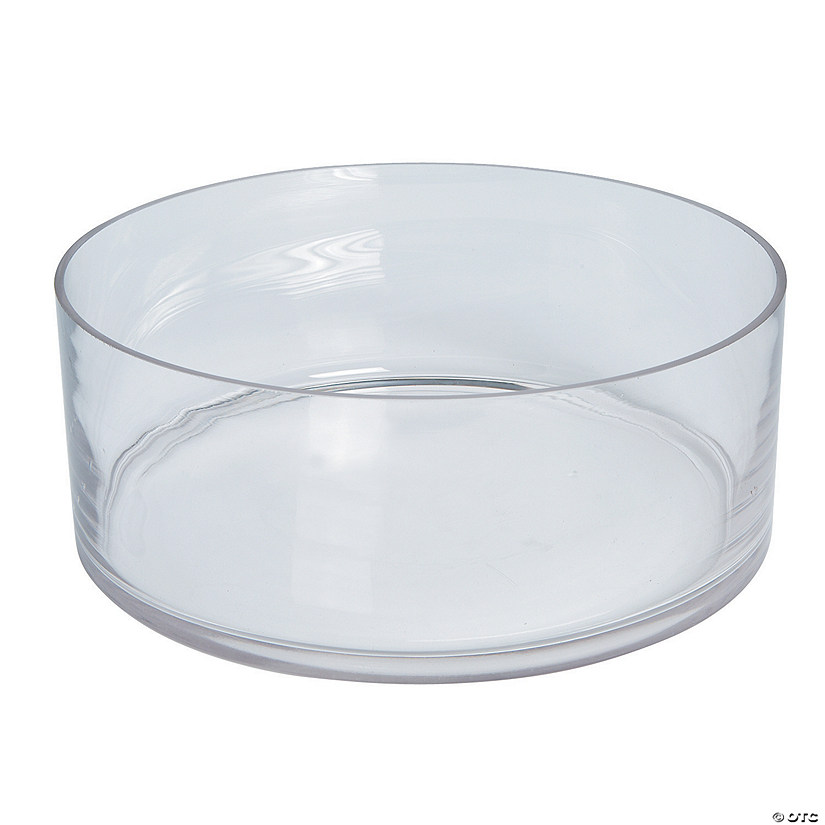 Large Round Glass Dish