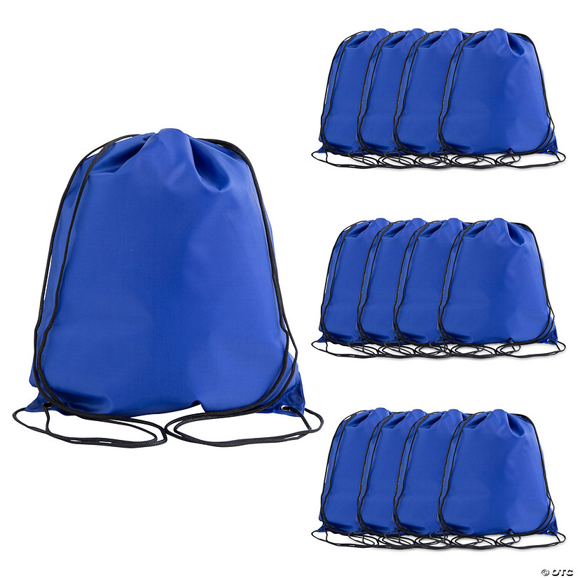 Large Royal Blue Drawstring Bags Audio Thumbnail