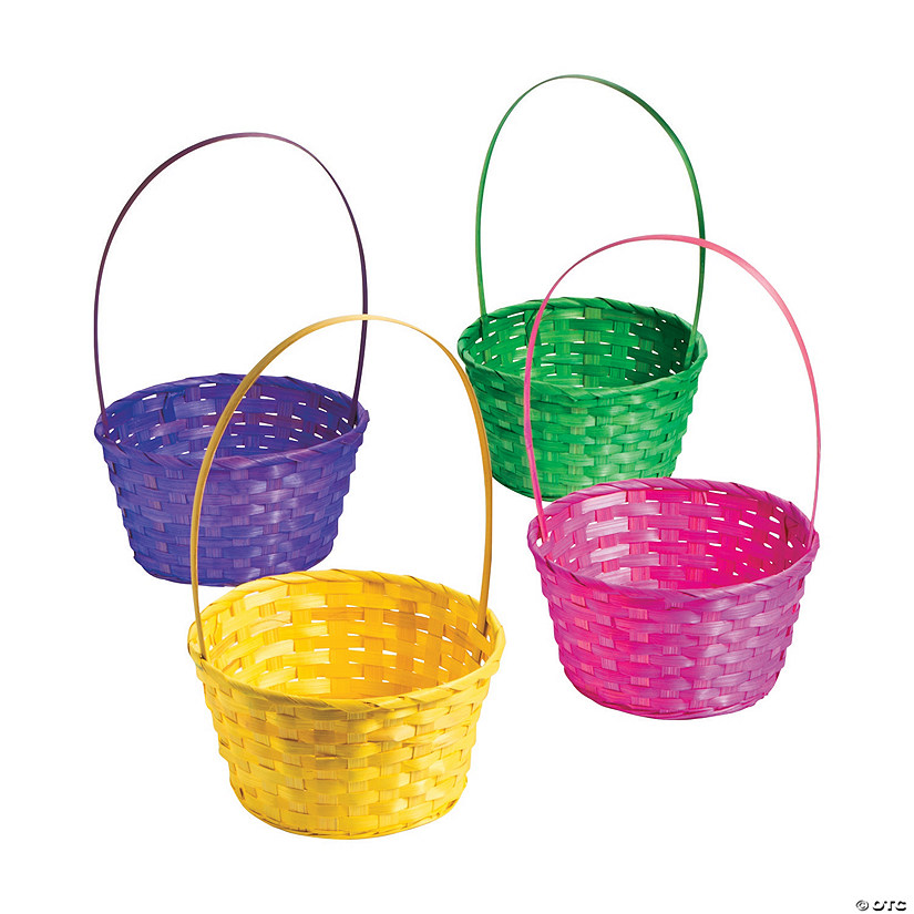 Large Solid Color Easter Baskets Image Thumbnail