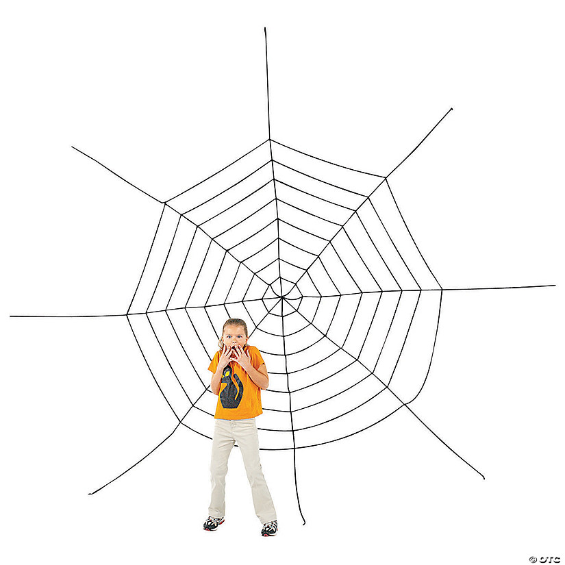 Large Spider Web Halloween Decoration Audio Thumbnail
