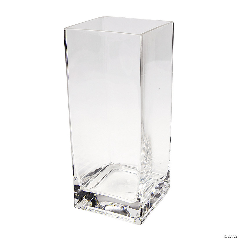Large Square Glass Vase Discontinued