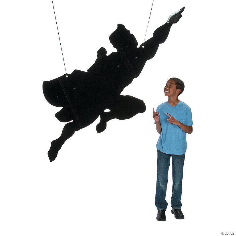 Large Superhero Silhouette Hanging Decoration Audio Thumbnail