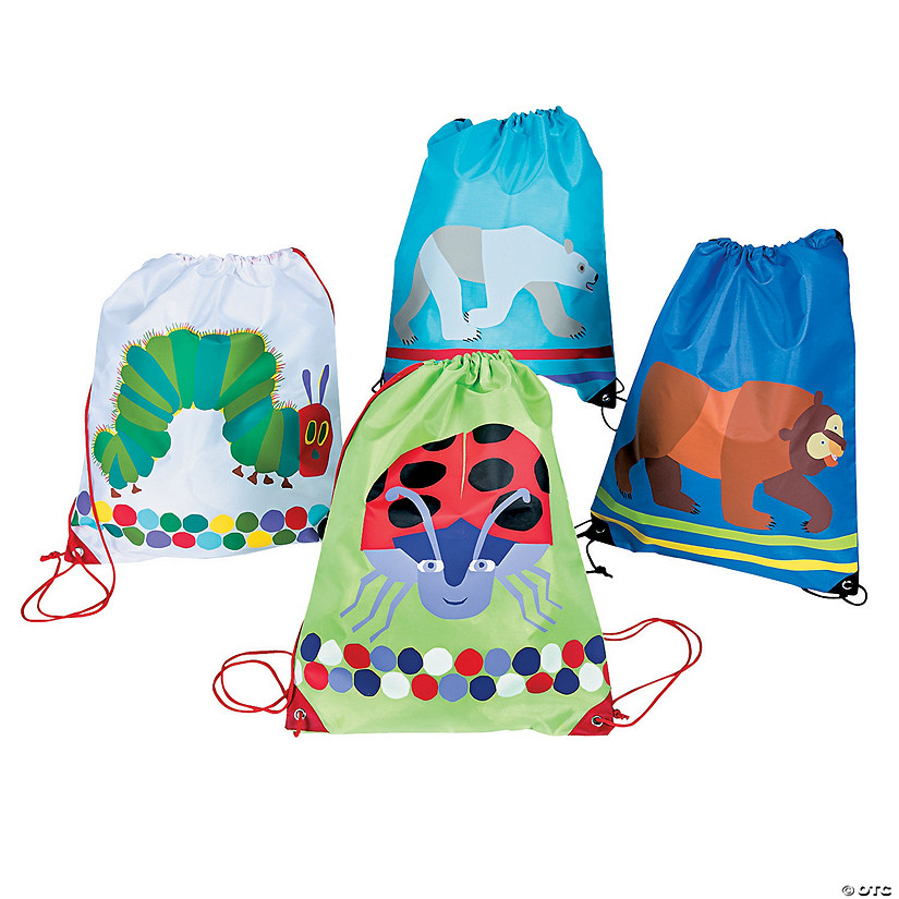 Large The World of Eric Carle™ Drawstring Bags
