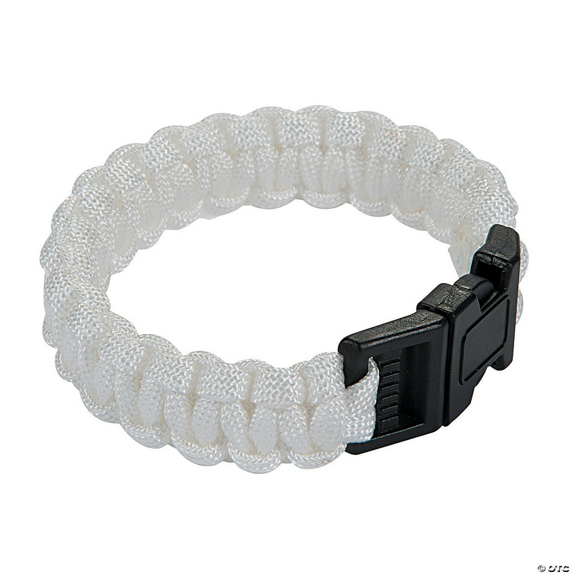 Large White Paracord Bracelets Audio Thumbnail