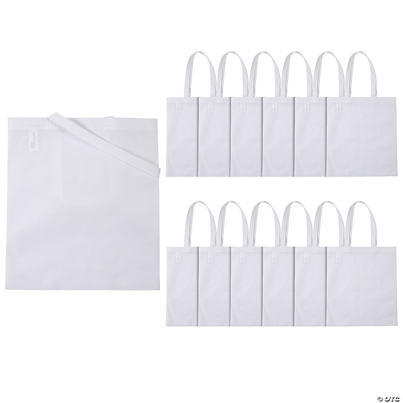 Large White Tote Bags Audio Thumbnail