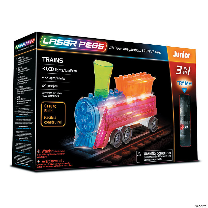 Laser Pegs: 3-in-1 Train