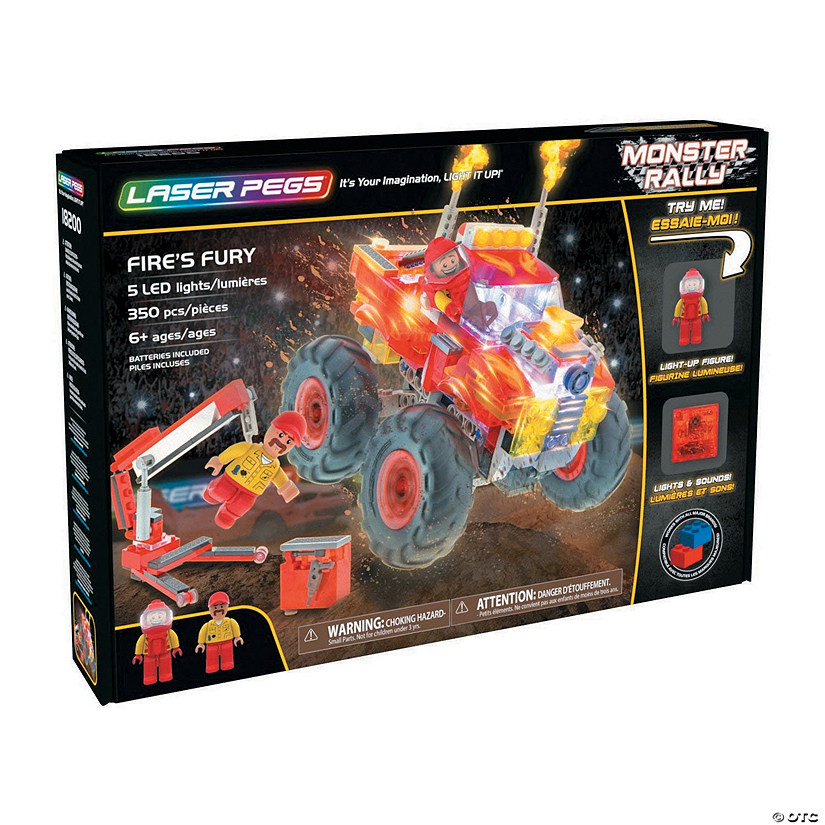 Laser Pegs: Fire's Fury Image Thumbnail