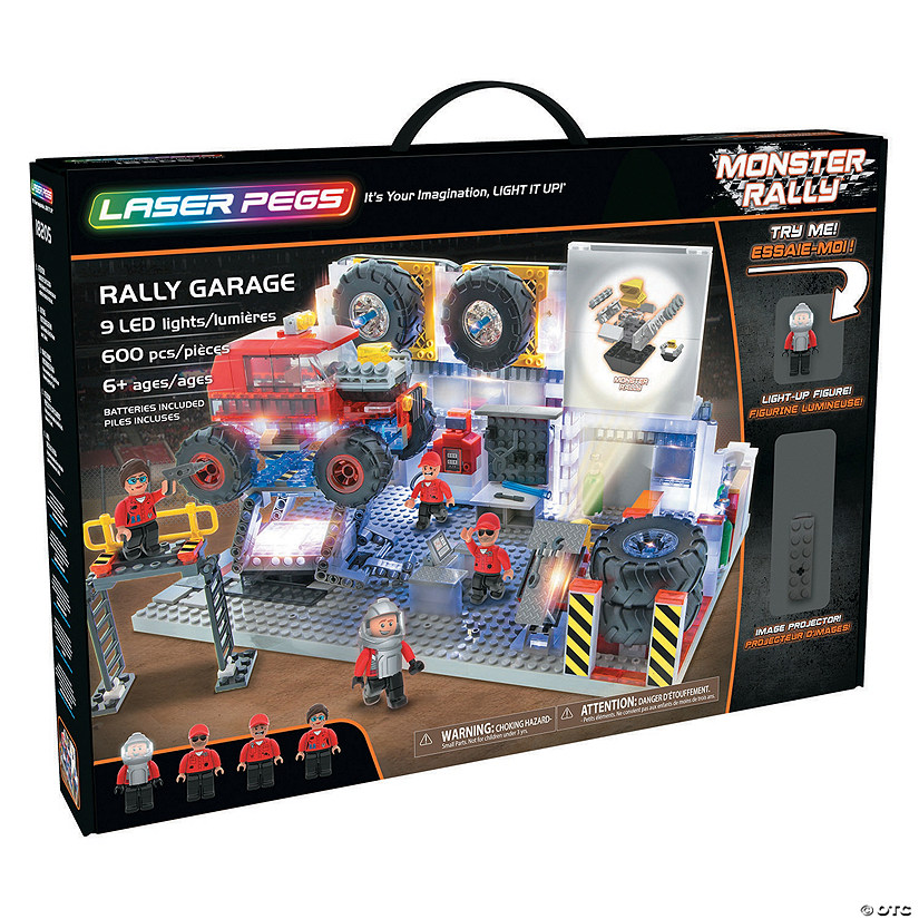 Laser Pegs: Rally Garage Image Thumbnail