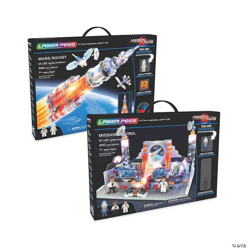 Laser Pegs Space Mission: Set of 2 Image Thumbnail