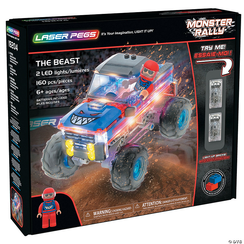 Laser Pegs: The Beast Image Thumbnail