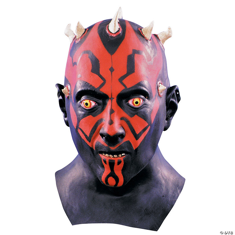 Latex Darth Maul Star Wars™ Mask