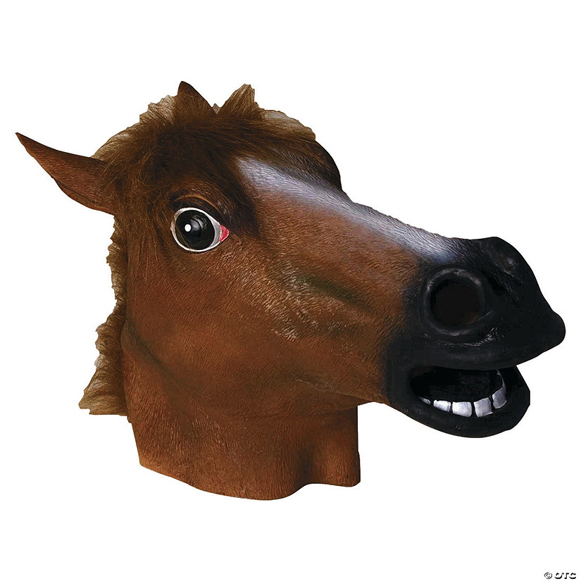Latex Horse Mask