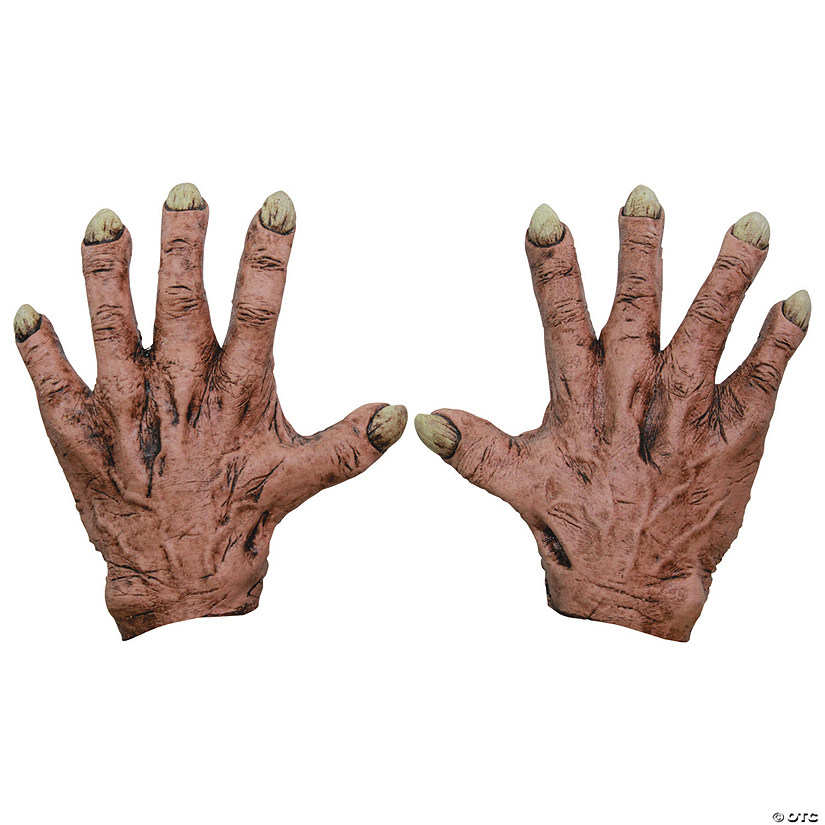 Latex Monster Flesh Hands