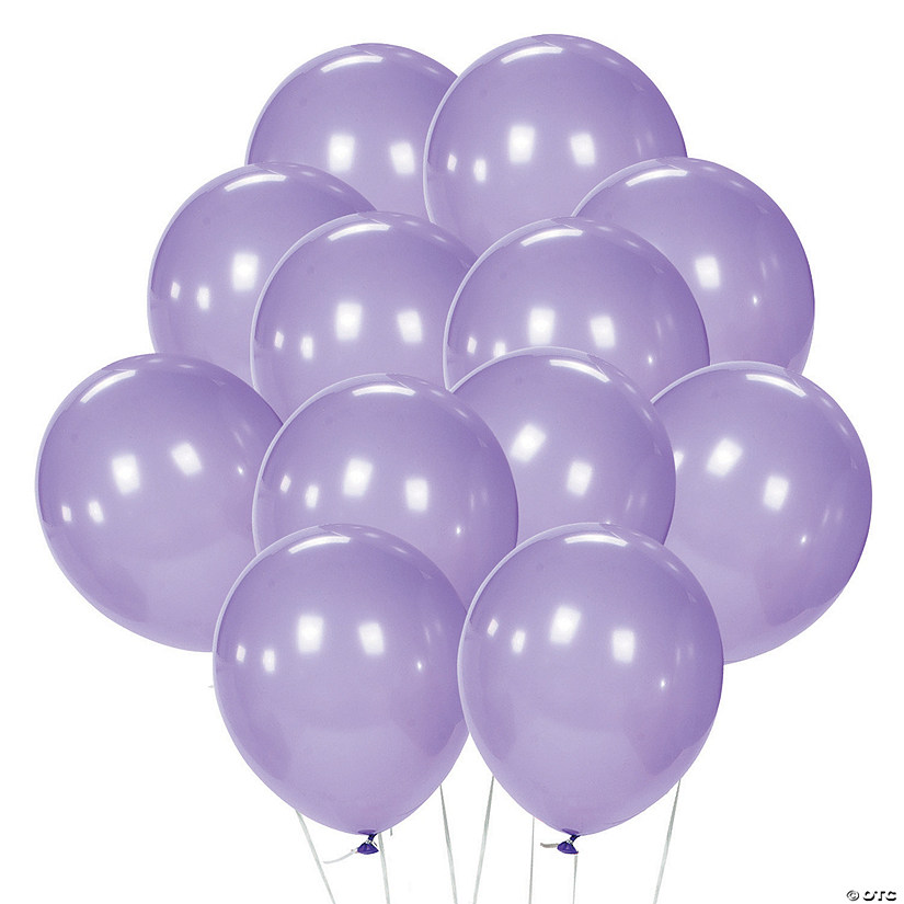 "Lavender 11"" Latex Balloons Audio Thumbnail"