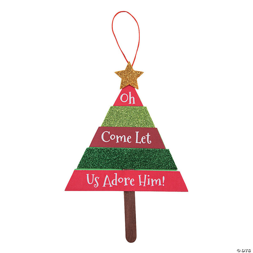 Layered Christmas Tree Sign Craft Kit Image Thumbnail