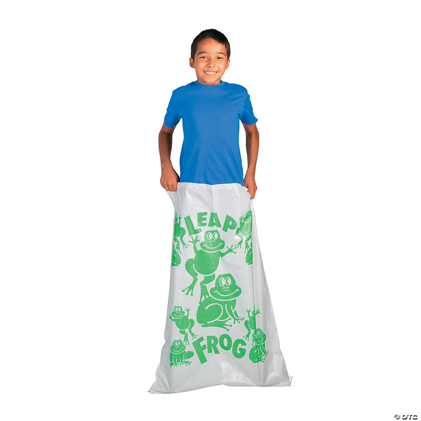 Leap Frog Potato Sack Race Bag Image Thumbnail