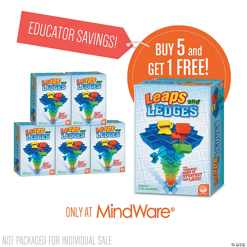 Leaps and Ledges: Classroom Set of 6 Audio Thumbnail