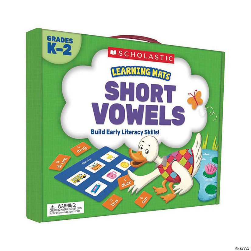 Learning Mats: Short Vowels Audio Thumbnail