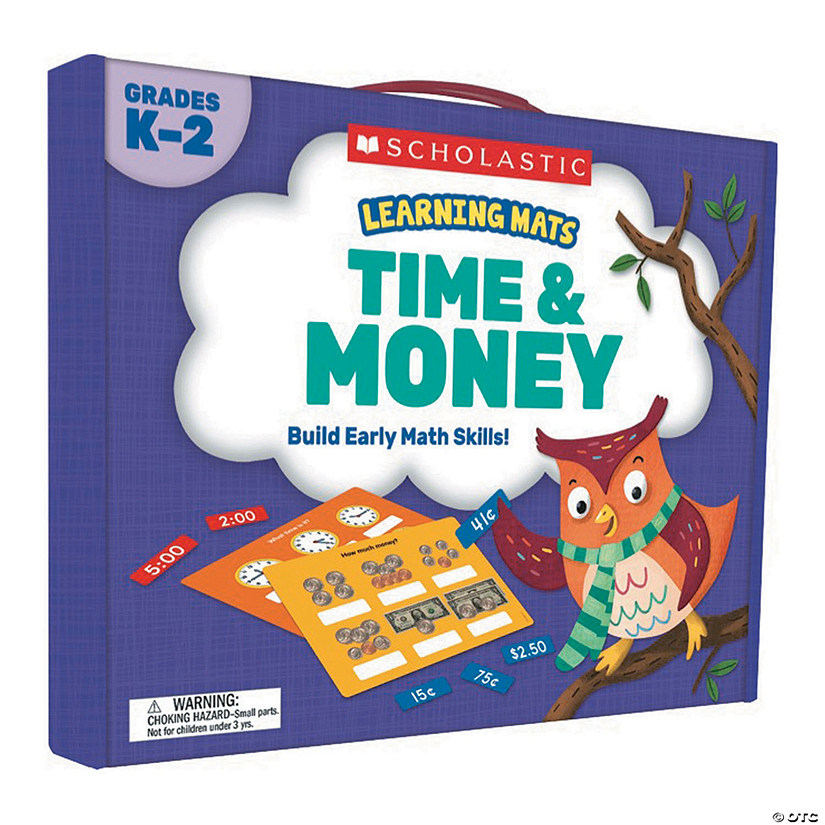 Learning Mats: Time & Money, Grades K-2