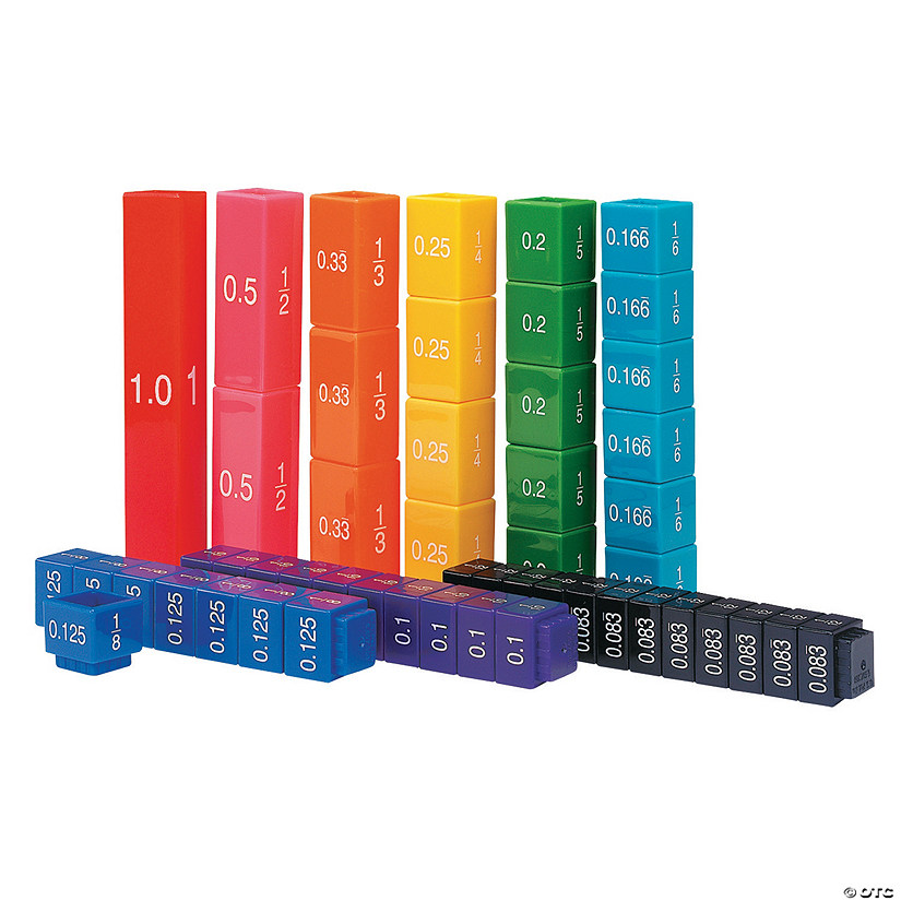 Learning Resources® Fraction Tower® Equivalency Set