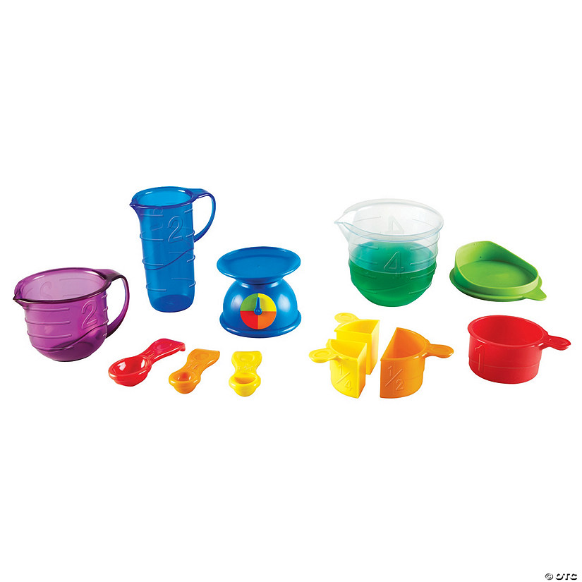 Learning Resources® Primary Science Mix & Measure Set