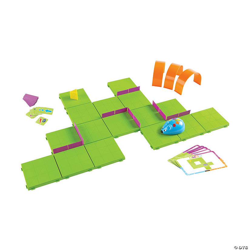 Learning Resources<sup>®</sup> Code & Go™ Robot Mouse Activity Set