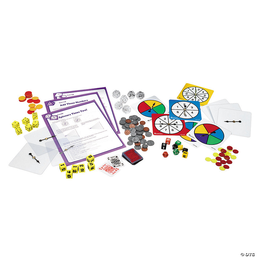 Learning Resources<sup>®</sup> Deluxe Probability Kit