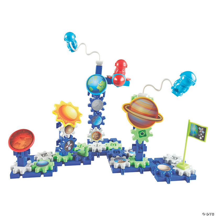 Learning Resources<sup>®</sup> Gears! Gears! Gears!<sup>®</sup> Space Explorers Building Set