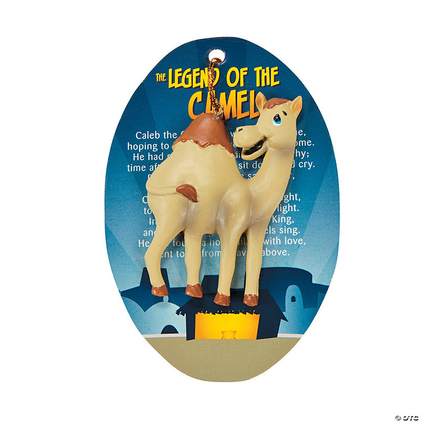 Legend of the Camel Christmas Ornaments with Card - Less ...