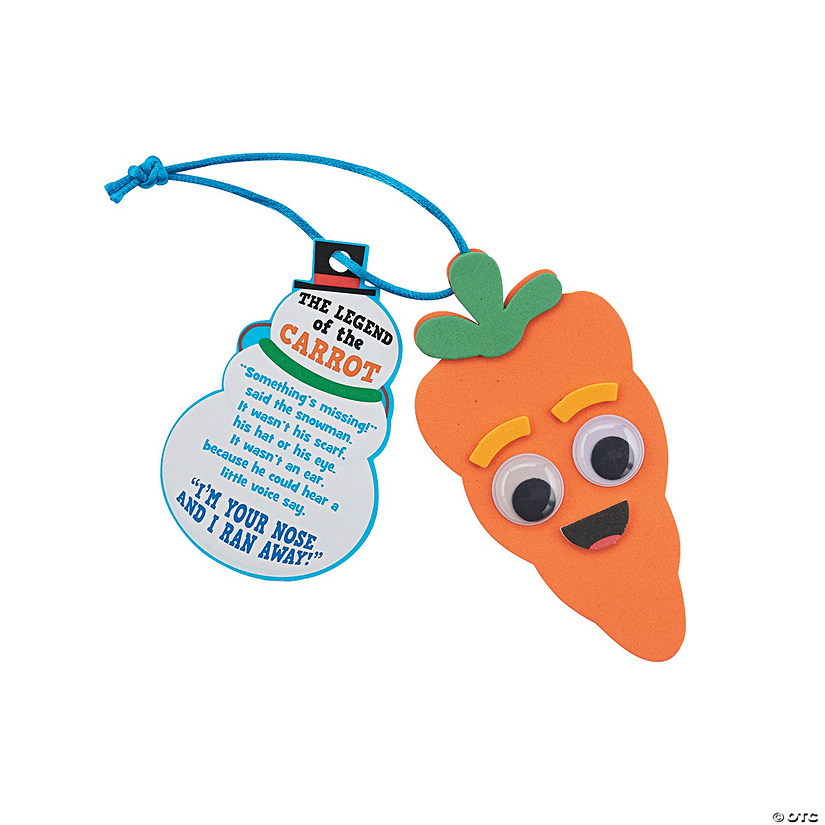 Legend of the Carrot Ornament Craft Kit