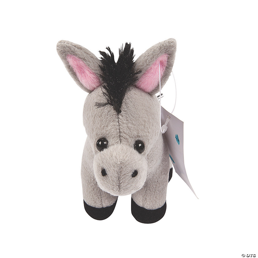 Legend of the Christmas Stuffed Donkey with Card - 12 Pc. Audio Thumbnail