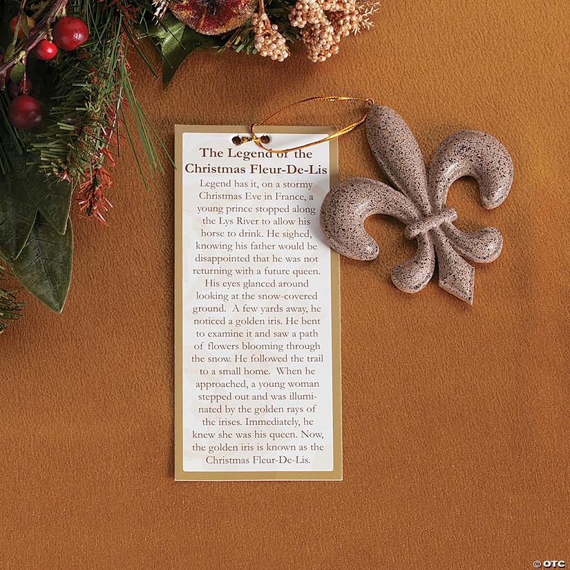 """""""Legend of the Fleur De Lis"""" Christmas Ornaments - Legend Of The Fleur De Lis"""" Christmas Ornaments - Discontinued"""