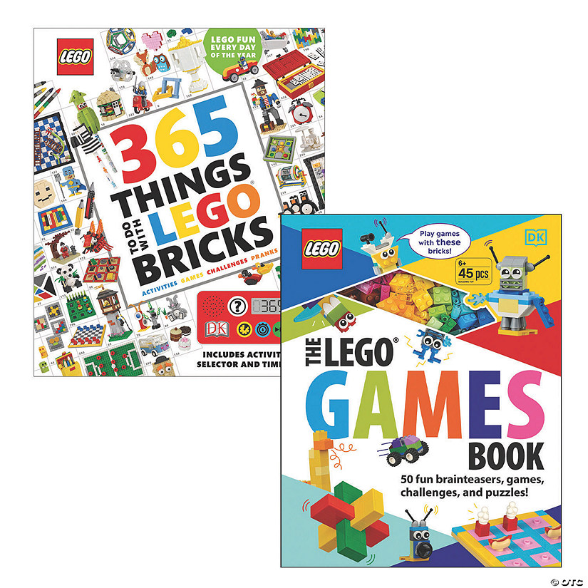 LEGO Awesome Activity Books: Set of 2 Image Thumbnail