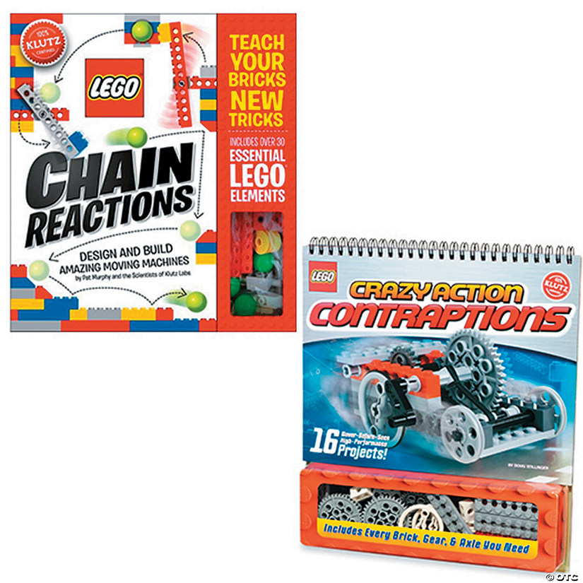 LEGO Chain Reactions & Crazy Contraptions: Set of 2 Audio Thumbnail