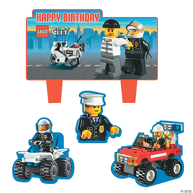 Lego174 Mini Cake Decorations