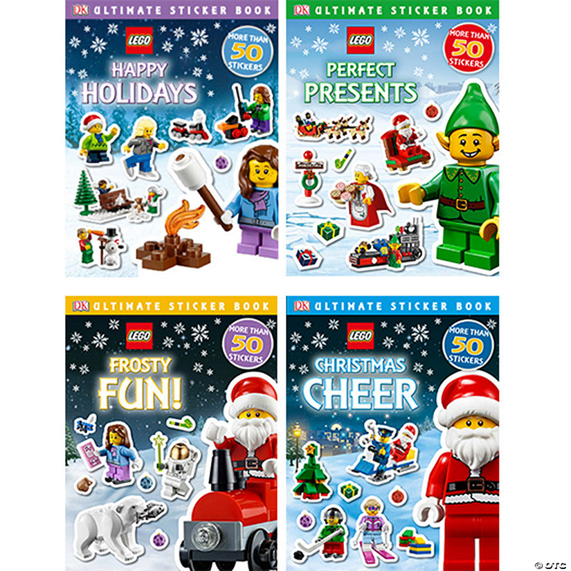 LEGO Ultimate Sticker Books