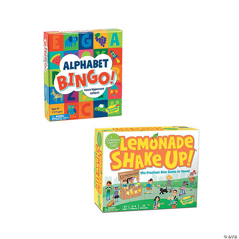 Lemonade Shake Up and Alphabet Bingo: Set of 2