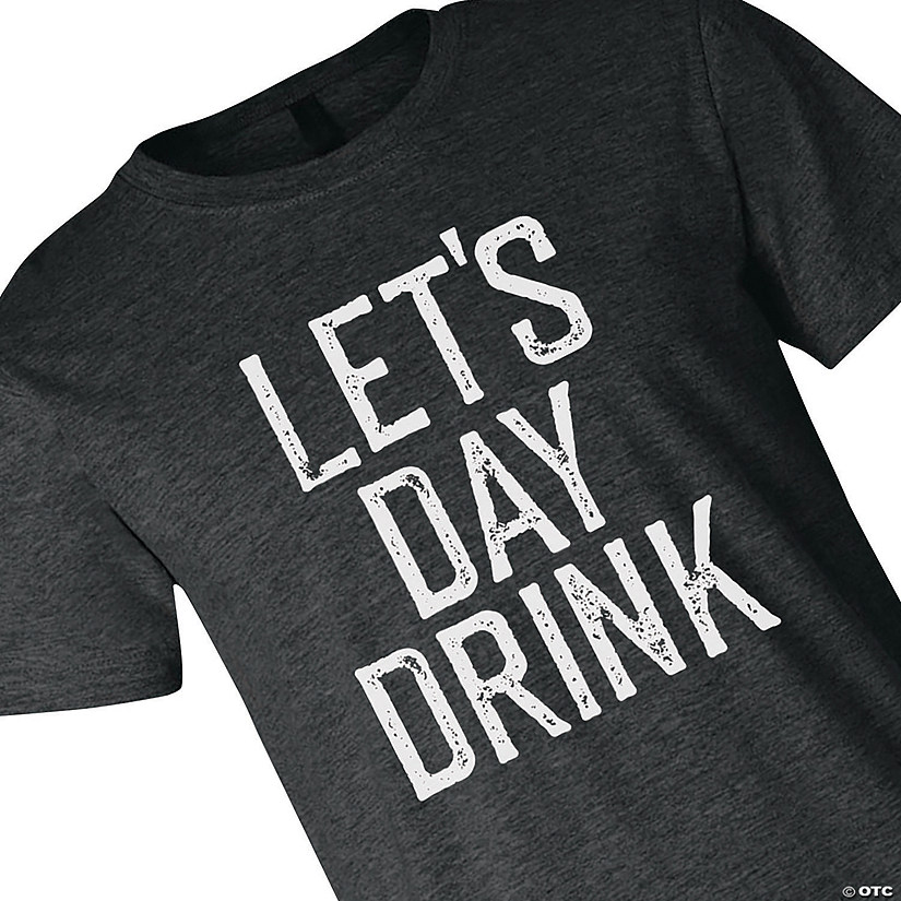 Let's Day Drink Adult's T-Shirt Audio Thumbnail