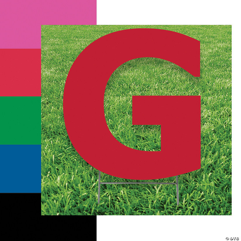 Letter G Yard Signs Audio Thumbnail