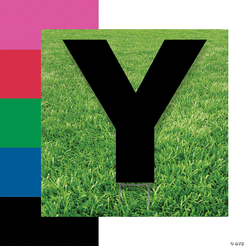 Letter Y Yard Signs Audio Thumbnail