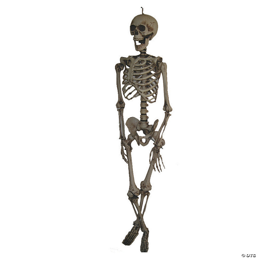 Life Size Hanging Skeleton Halloween Decoration Audio Thumbnail