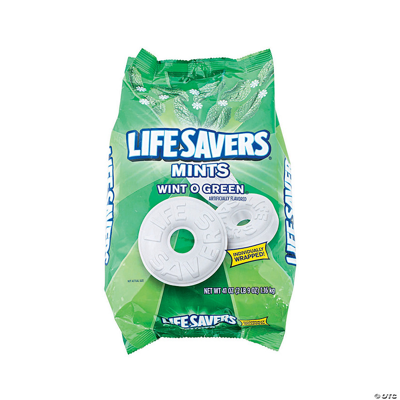 Lifesavers<sup>®</sup> Wint O Green<sup>®</sup> Mints