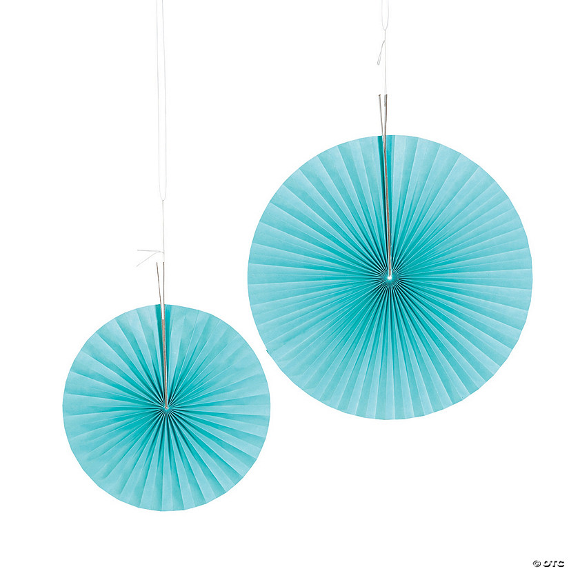 Light Blue Hanging Fans