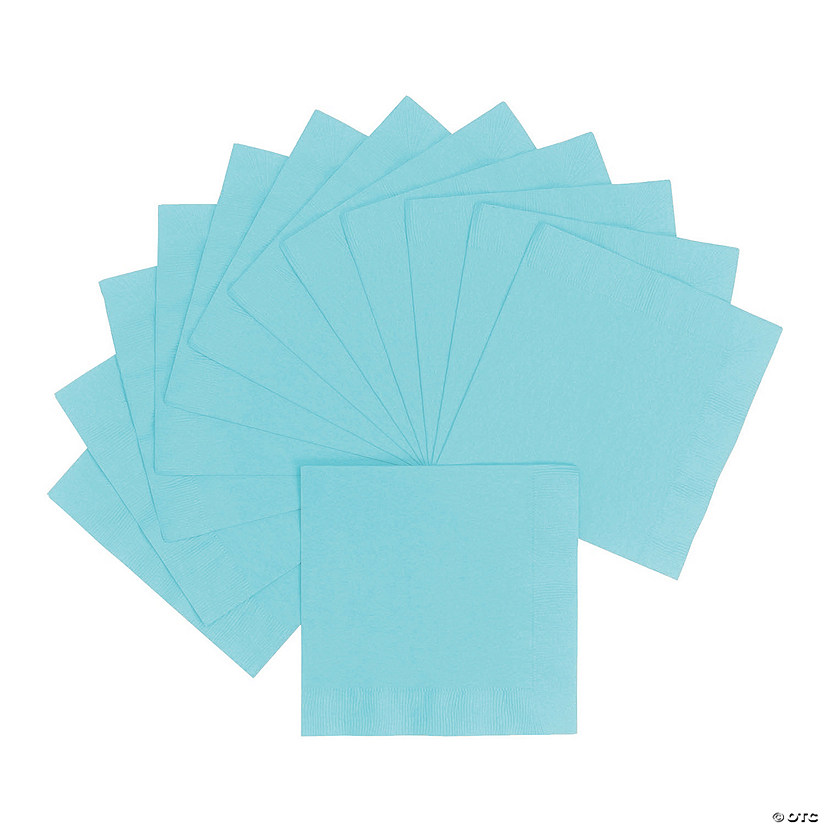 Light Blue Luncheon Napkins Audio Thumbnail