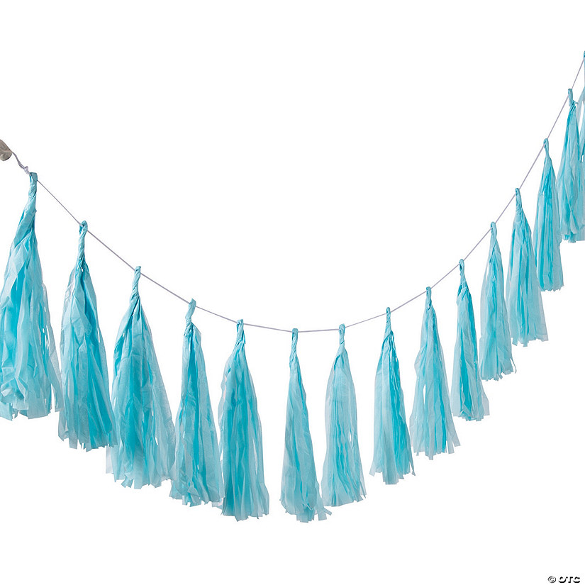 Light Blue Tassel Garland Audio Thumbnail