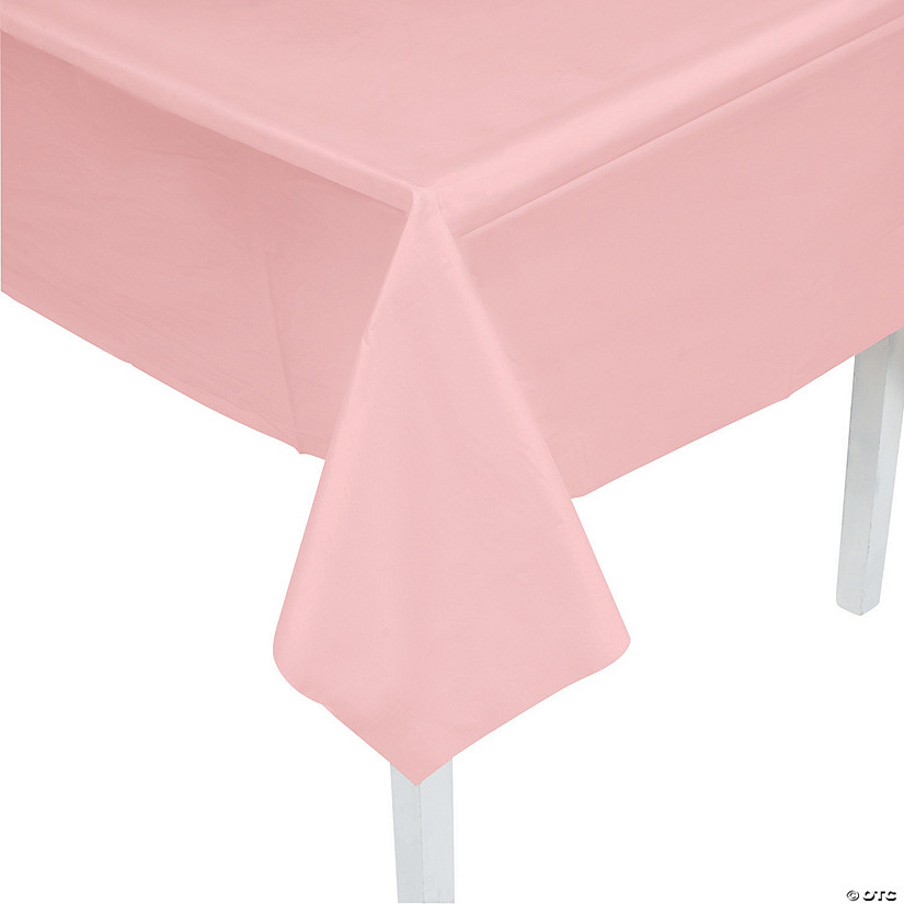 Light Pink Plastic Tablecloth Audio Thumbnail