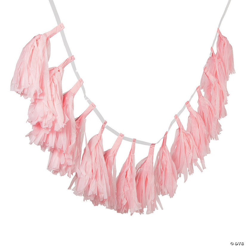 Light Pink Tassel Garland Audio Thumbnail