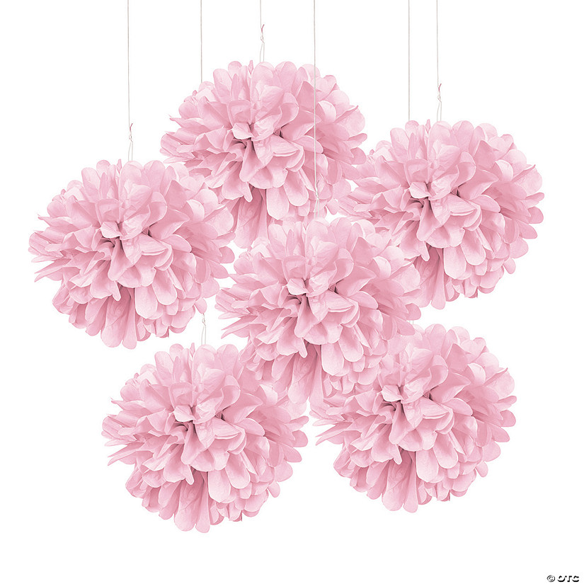 Light Pink Tissue Pom-Pom Decorations Audio Thumbnail