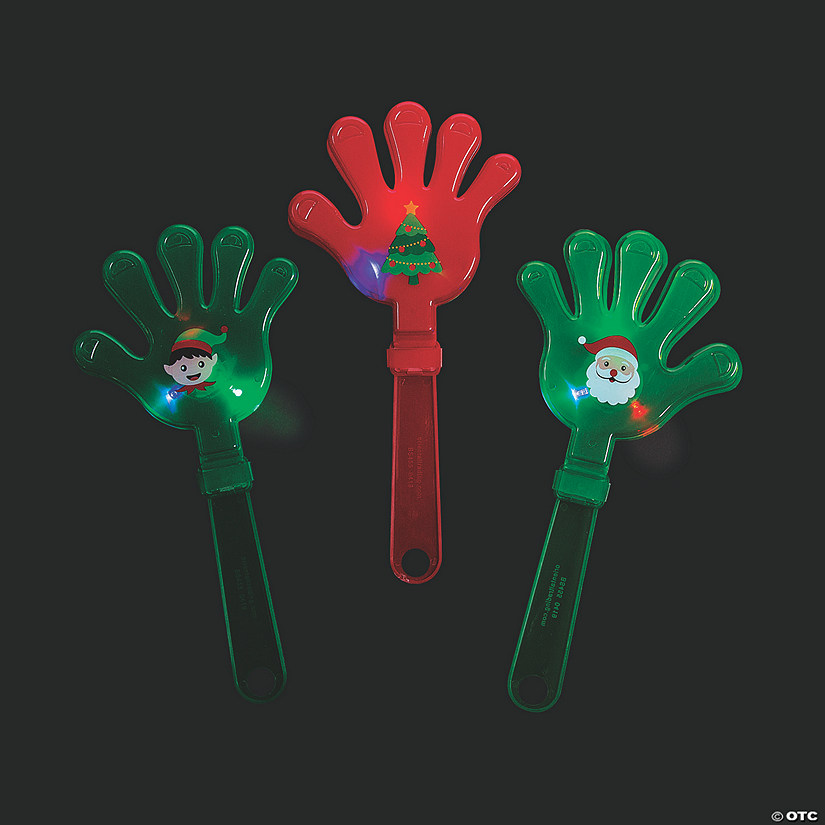 Light-Up Christmas Hand Clappers Audio Thumbnail