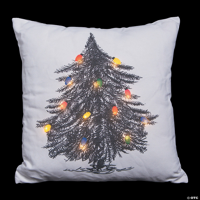 Light-Up Christmas Tree Pillow Audio Thumbnail